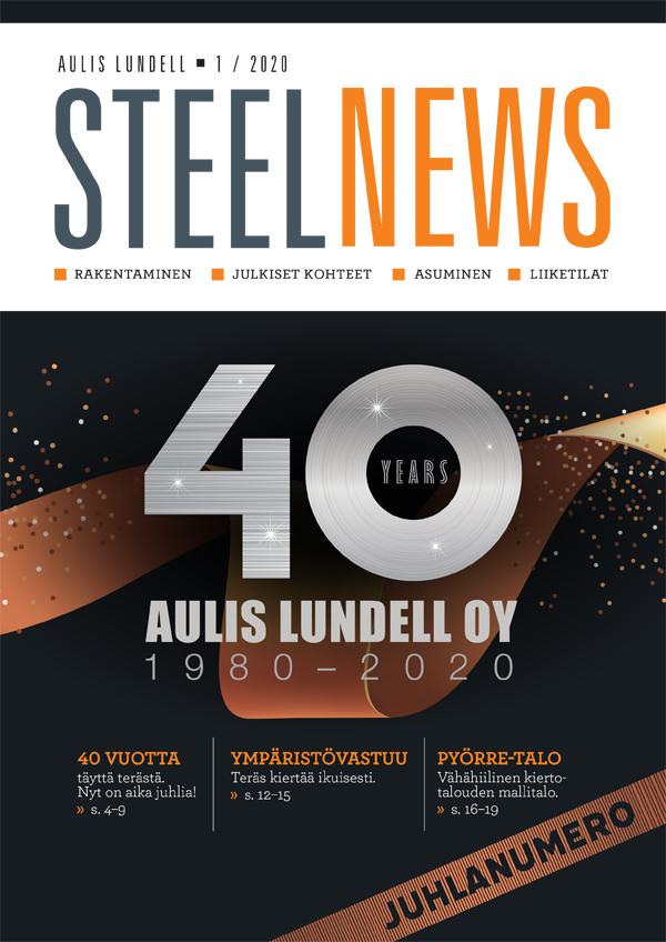 Lue Steelnews juhlanumero 1/2020