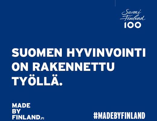 Suomalainen työ Made by Finland