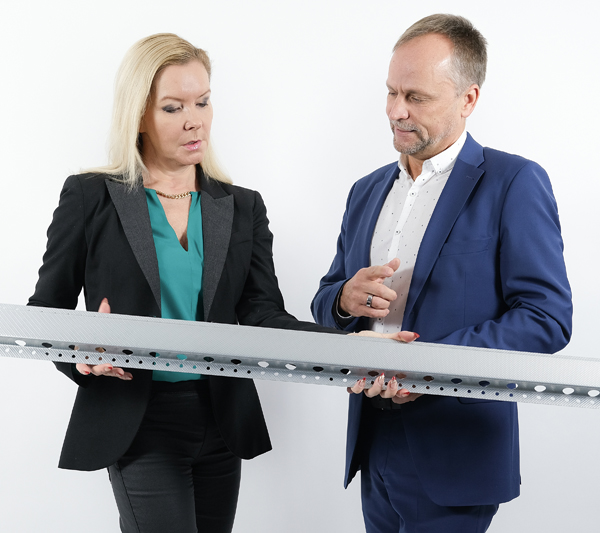 Leena Lundell ja Jukka Suutari