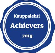 Kuulumme Kauppalehden vuoden 2019 Menestyjiin