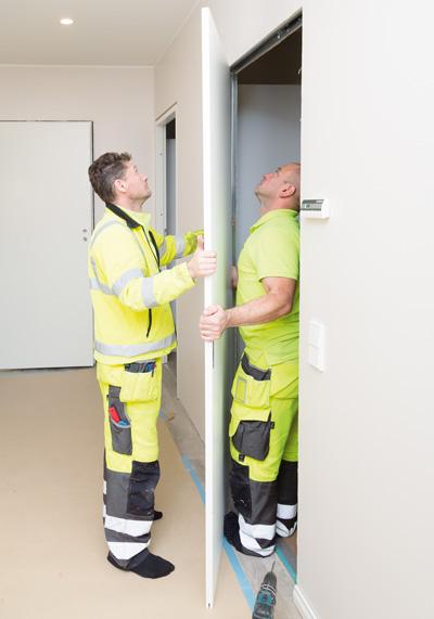 Liune oven asennuskuvia 1
